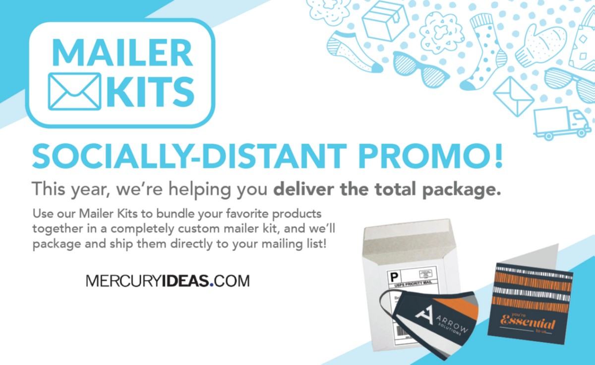 Mailer Kits = Socially Distant Promo!