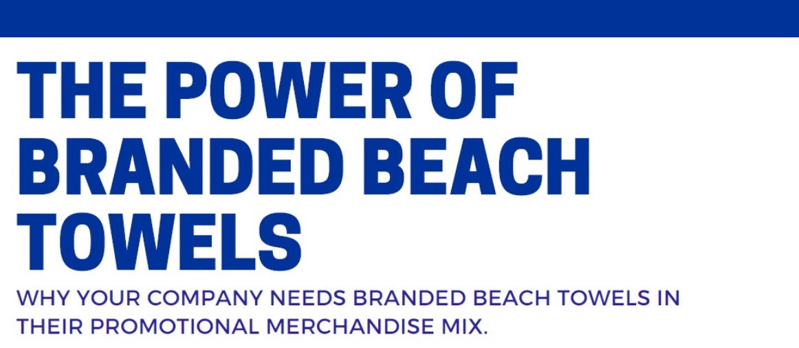 The Power of Beach Towels